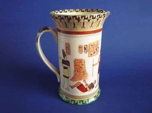 Early Royal Doulton 'Egyptian A - Pottery' Series Ware Concord Jug c1912 D3419
