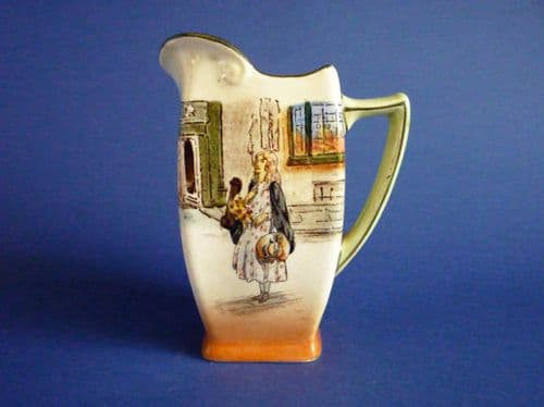Early Royal Doulton 'Little Nell' Dickens Series 'A' Friar Jug D2973 c1910