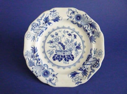 Fine Pair of Ironstone China 'Chinese Trophies' Muffin or Side Plates c1830 (Sold)