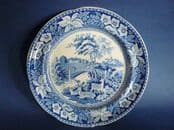 John and William Ridgway 'Osterley Park' Pattern Twiffler or Dessert Plate c1815 #1