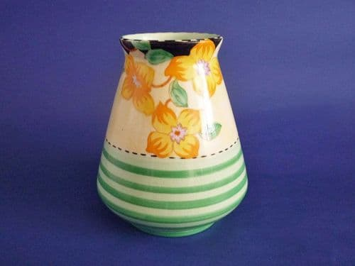 Maling Art Deco Vase 'Clematis with Green Bands' c1935