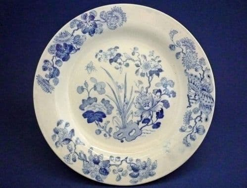 Pair of Wedgwood 'Flower Group' Side Plates c1820