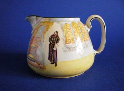 Rare First Series Royal Doulton Shakespeare Characters 'Shylock' Cream Jug D3596 c1912