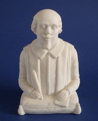 Rare Robinson and Leadbeater Parian Ware Monument Bust of William Shakespeare c1880