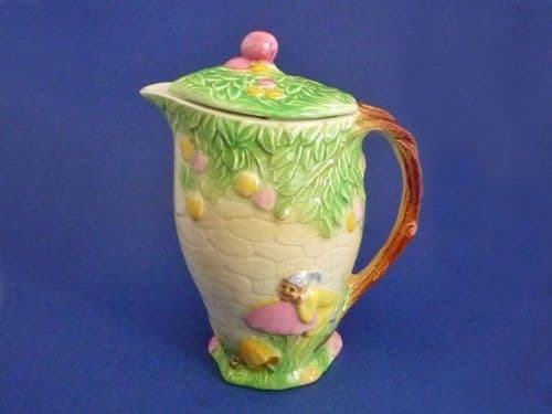 Rare Royal Winton  Yellow 'Pixie' Jug and Cover c1940