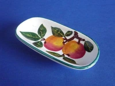 Rare Wemyss Ware 'Apples' Pin Tray c1900