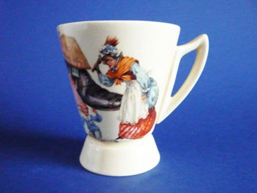 Royal Doulton Nursery Rhyme Child's Cocoa Mug by William Savage Cooper c1939