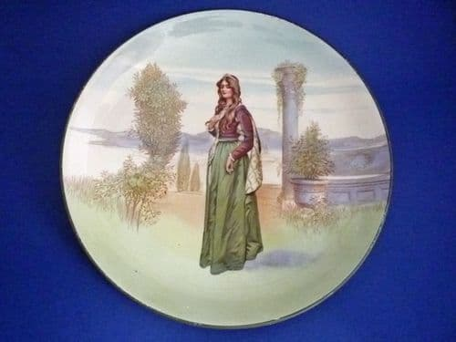 Royal Doulton Shakespearean Characters 'Juliet' Series Ware D3835 Plate c1915