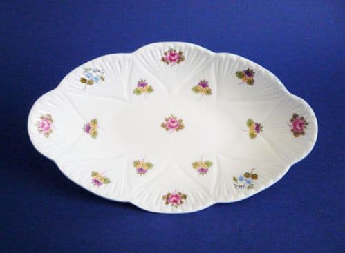 Shelley Fine Bone China 'Rose, Pansy and Forget-me-not' Pattern 13424 Dainty Dish c1945