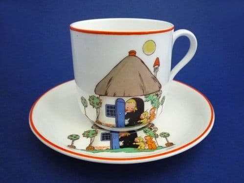 Shelley Mabel Lucie Attwell 'If the Fairies Came to Tea' Child's Cup and Saucer c1928