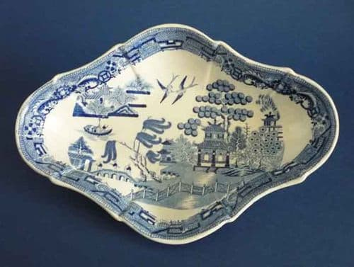 Spode 'Willow' Pattern Serving Dish c1820