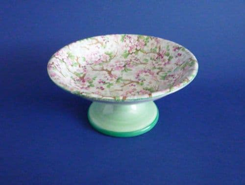 Unusual Shelley Pottery 'Maytime' Chintz Comport c1939