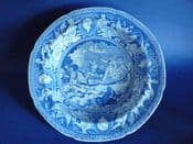 Very Rare 'Neptune' or 'Apotheosis of Nelson' Soup Plate c1810