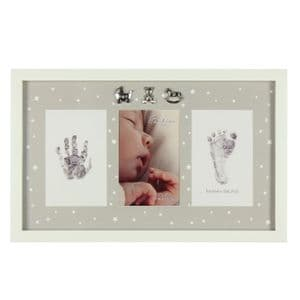 Baby  Hand and Foot Print Photo Frame Kit complete with ink pad
