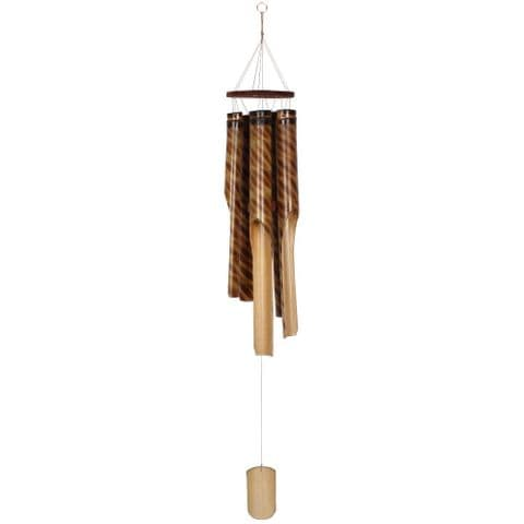 Bamboo Wind Chime Garden Ornament Medium Size 111cm
