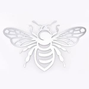Bee shaped Metal Wall Art Sculpture for home and garden