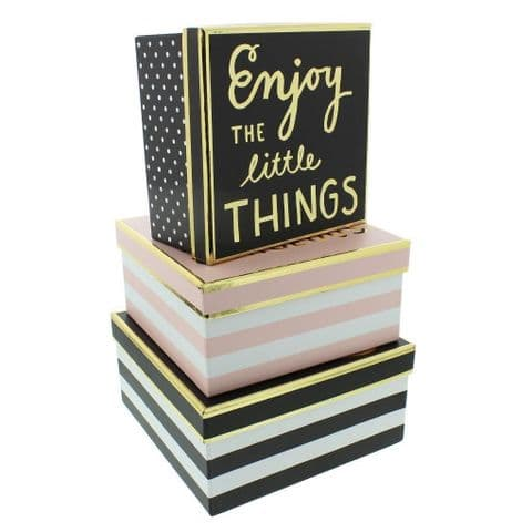 Chic Unique Decorative Storage Boxes With Lids - Designer Fashion Accesssory Storage Box For Wardrobes and Dressers
