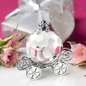 Crystal Princess Carriage Table Gift Party Bag Favor