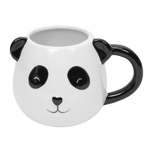 Cute 3D Panda Mug With Ears - Gorgeous Boxed Panda Mug Gift