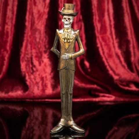 Day Of The Dead Skeleton Standing Man Figurine Ornament