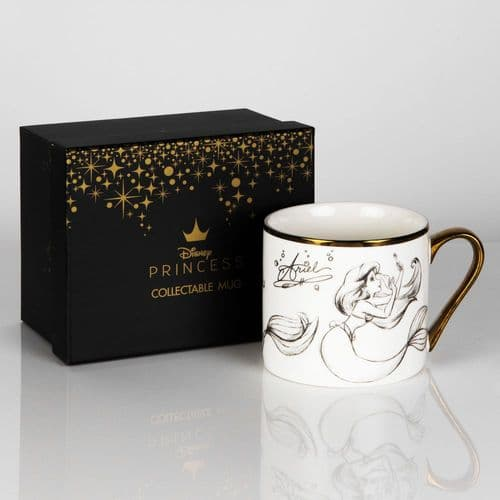 Disney Ariel Bone China Collectable Mug in Gift Box - The Little Mermaid - ARIEL