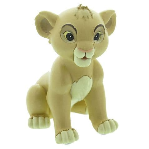 Disney Baby Simba Collectable Figurine Magical Moment Baby Christening Gift Titled 'Pride and Joy' Lion King Gift