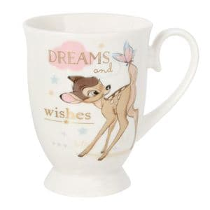 Disney Bambi Mug Official Licensed Giftware Dreams and Wishes Gift