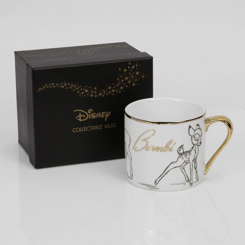 Disney  Classic Bambi Bone China Collectable Mug in Gift Box.  Perfect gift idea for Disney lovers.