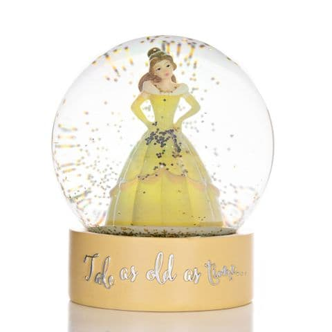 Disney Belle Beauty and The Beast Snow Globe Ornament Gift