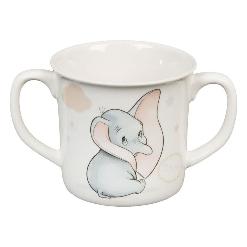 Dumbo twin handled cup in Disney branded gift box - A perfect gift for a new baby
