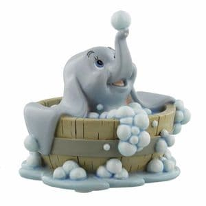 Disney Dumbo Figurine Magical Moments Dumbo In Bath Collectable Disney Ornament Gift