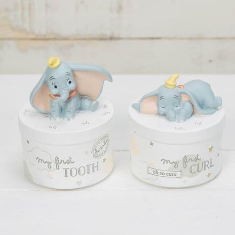 Disney Dumbo First Tooth First Curl Boxes Baby Gift