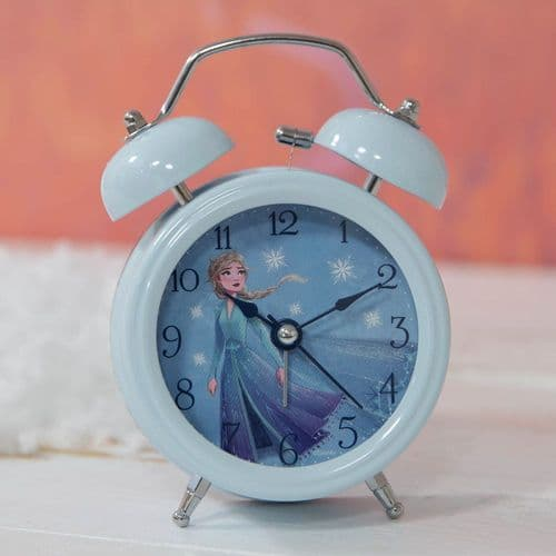 Disney Frozen 2 Alarm Clock Featuring Elsa - Childs Bedroom Accessory Gift