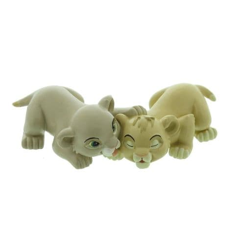 Disney Lion King Collectable Figure Simba and Nala Magical Moments Gift 'Best Friends'