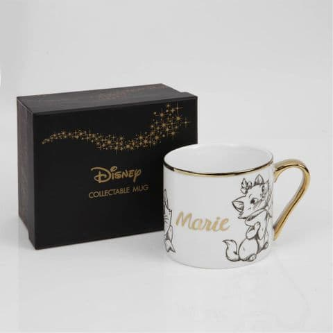 Disney Marie From Aristocats New Bone China Collectable Contemporary Mug in Gift Box - MARIE