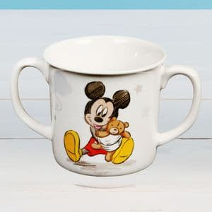 Disney Mickey Mouse Baby Boy Twin Handle Cup Gift