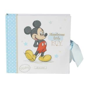 Disney Mickey Mouse Baby Photo Album Gift For Baby Boy