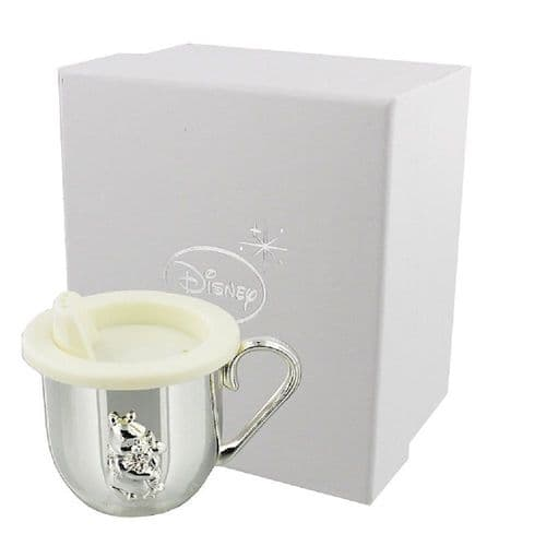 Disney Winnie The Pooh Silver Christening Cup Baby Gifts