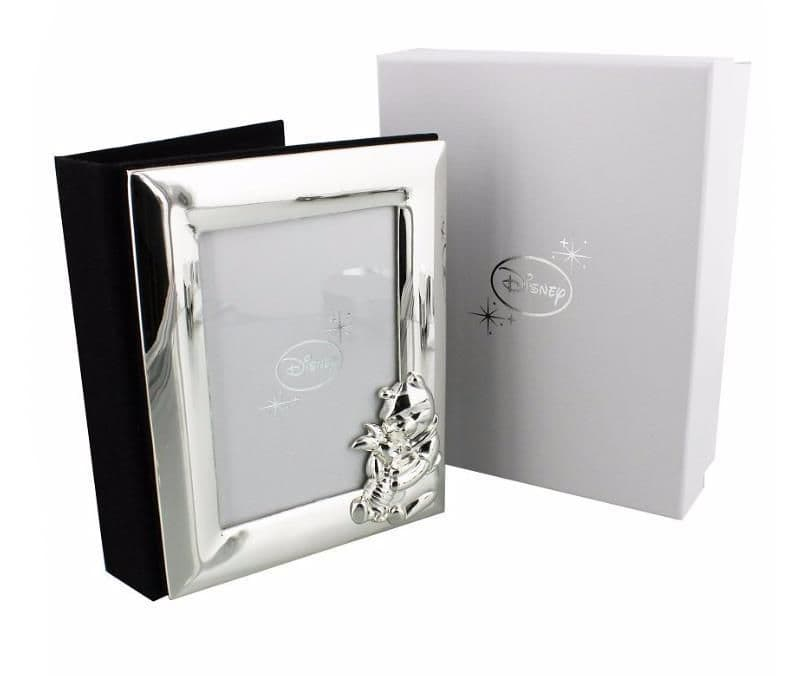 Disney Winnie The Pooh Silver Plated Photo Album Quality Gift For Christenings and New Baby.  Store your special photos in this very special photo album.