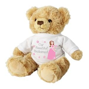 Fabulous Bridesmaid Teddy Bear Gift - Thank you gifts for bridesmaids
