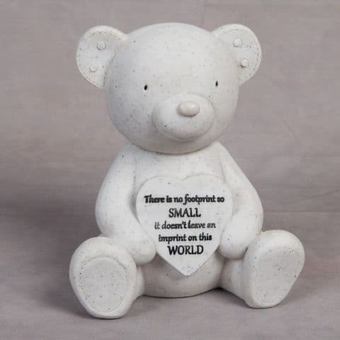 Grave and Garden Teddy Bear Ornament Tribute In Loving Memory
