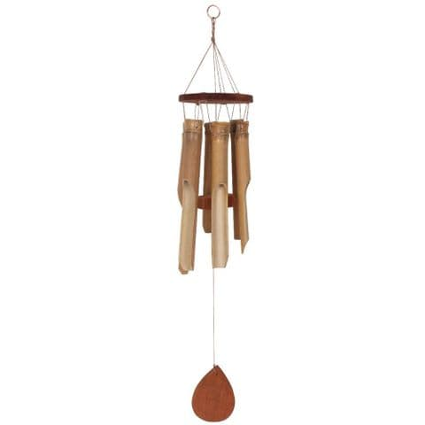 Handmade Bamboo Wind Chime Garden Ornament Small Size 60cm