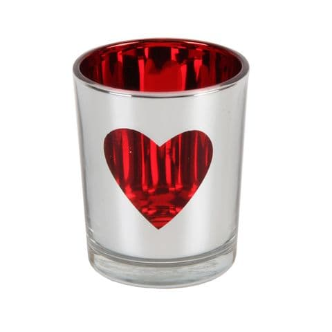 Heart Design Votive or Tealight Candle Holder