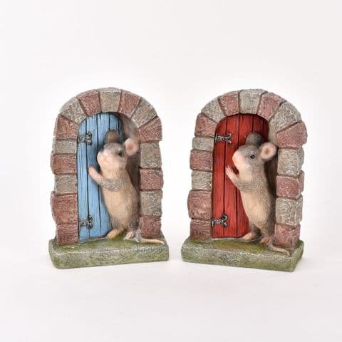Little Mouse Door Ornament For Home and Garden