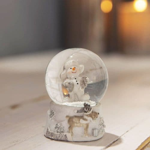 Mini Snowman Snow Globe Christmas Gift