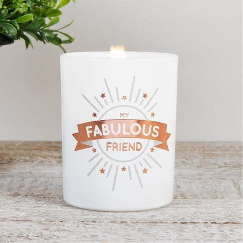 My Fabulous Friend Scented Candle Gift