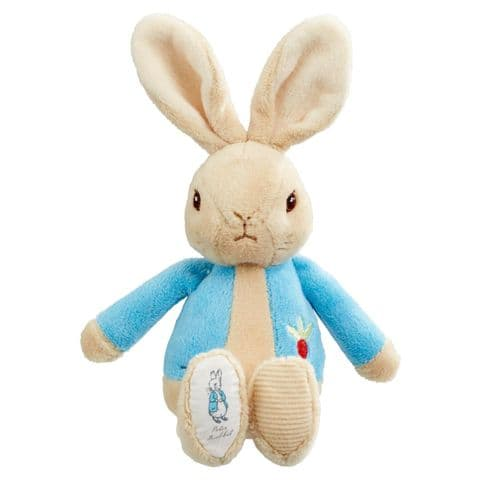 My First Peter Rabbit Bean Rattle Baby Gift