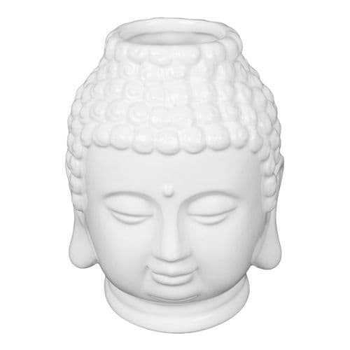 My Little White Buddha Pot Make Up Brush Holder and Vase Home Ornament