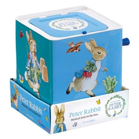Peter Rabbit Jack In A Box - Beatrix Potter Peter Rabbit Gift For Baby and Toddler