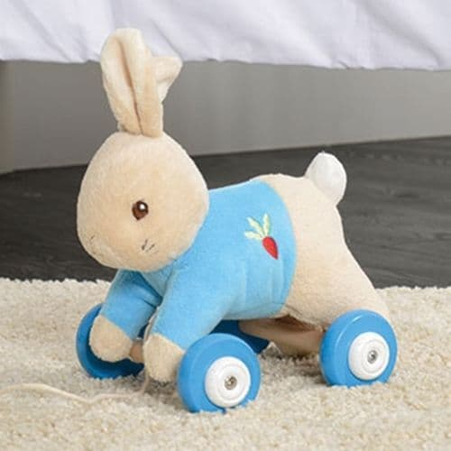 Peter Rabbit Pull Along Toy For Babies and Toddlers - Beatrix Potter Peter Rabbit Gifts and Toys